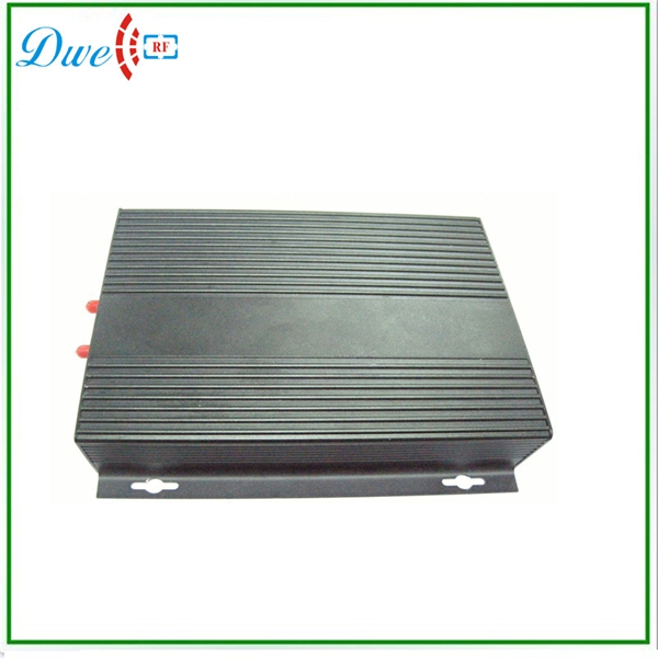 RFID 2 antenna UHF reader seperated controller with long distance reading range 2015 2 45g long reading range omnidirectional reader for safety in shenzhen