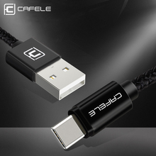 Cafele QC3.0 Type C Cable Fast Charging USB Type-C For huawei Xiaomi 6 Samsung S8 OnePlus 5 Data sync