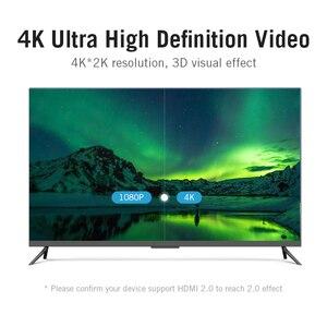 Image 2 - Vention HDMI 2.0 HDMI Kablosu HDMI 2.0 HDR 4K @ 60Hz HDTV Splitter Switcher Dizüstü PS3 Projektör bilgisayar 1 m 3 m 5 m 10 m Kablo