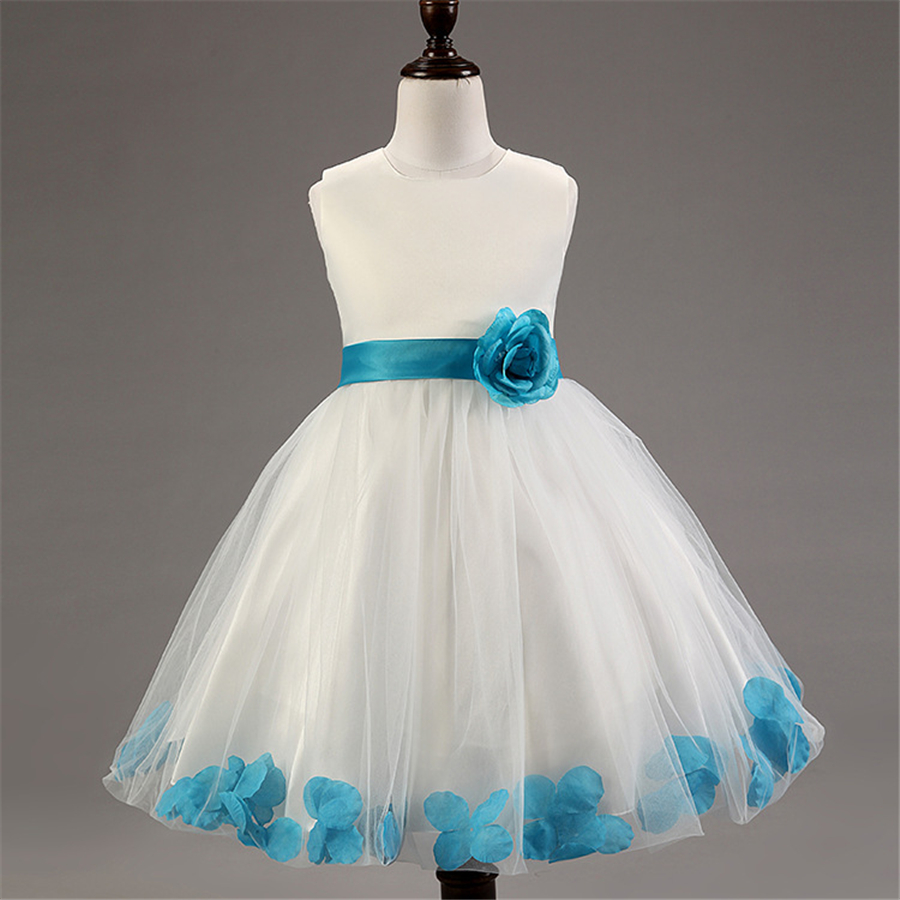 Подробнее о Summer Formal Kids Dress For Girls Princess Wedding Party Dresses Girl Clothes Dress Bridesmaid Children Clothing XD34-F new girls dress children clothing petals hem toddler girl dresses wedding formal party princess dress kids clothes for 3 8 yrs