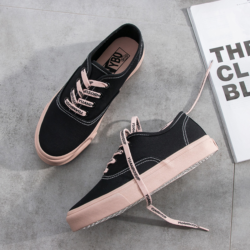 SWYIVY Women s Sneakers Canvas Breathable Ultra-light 2018 New Autumn Lace-up  Cow Muscle Flat Heel Female Walking Shoes US 17.94   pair  lot 1 0d60e7f9ebae