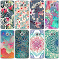 Flowers silicone TPU Cover Case For Samsung Galaxy S3 S4 S5 S6 S7 Edge J3 J5 A3 A5 2016 2015 2017 Core Grand Prime Coque Fundas