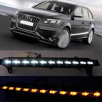 1 пара Хорошее дневного светодиодный свет лампы DC 12 В высокое Яркость Водонепроницаемый для Audi Q7 автомобиля DXY88