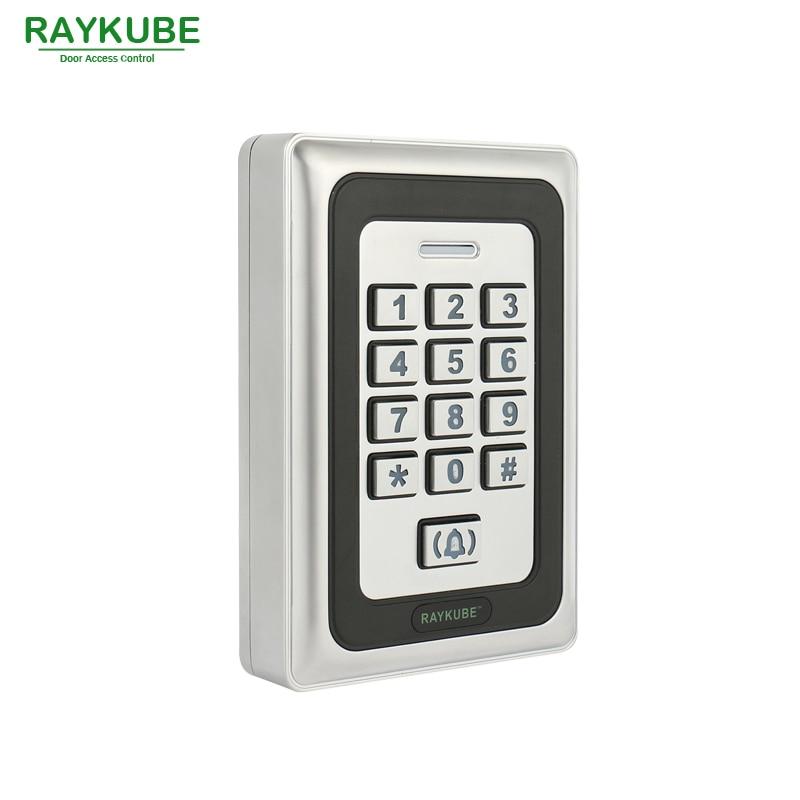 RAYKUBE Elektriskt magnetlås 180KG / 280KG Access Control System Kit - Säkerhet och skydd - Foto 4