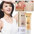 Protetor solar Fps 30 Proteção UV Protetor Solar Coreano Cosméticos Rosto e Corpo Creme Marca de Maquiagem Nua BB Creme de Filtro Solar À Prova D' Água
