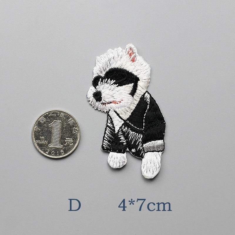 1 PCS Modelet e Kafshëve Cute Cute Patch Me Madhësi të Vogël Qen - Arte, zanate dhe qepje - Foto 3