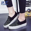 Women Casual Shoes Women Flats Loafers Fashion Mesh Canvas Low Top Lazy Shoes For Spring Summer B2727