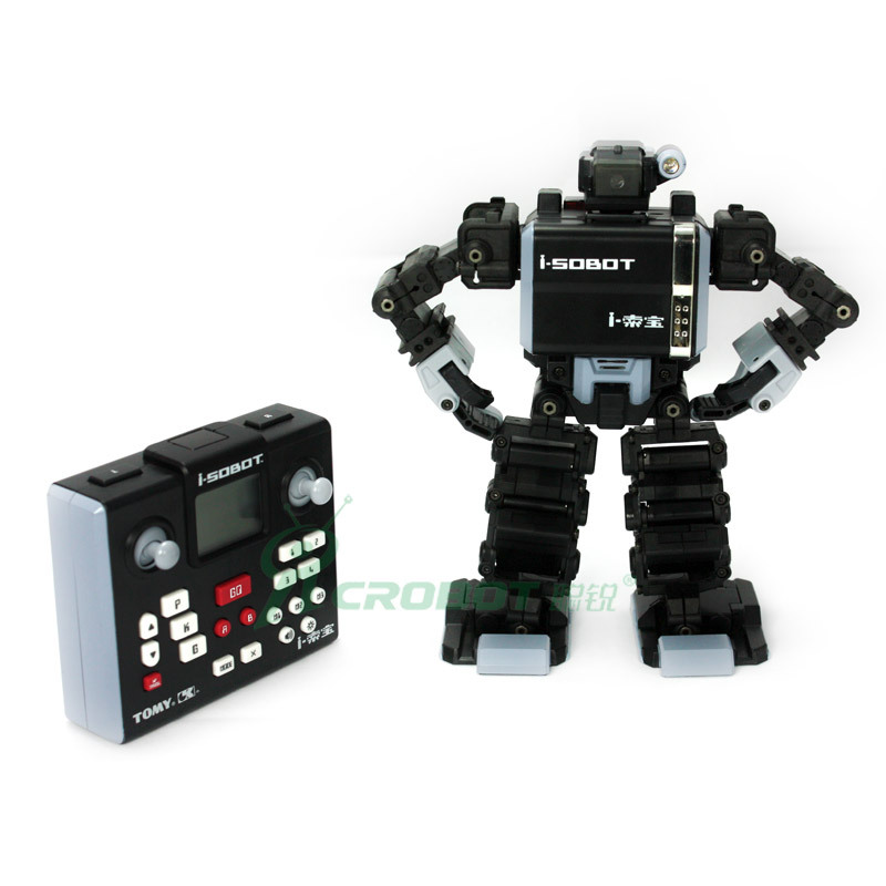 I-SOBOT the world smallese robot intelligent remote control of  voice control of the humanoid robot free shiping