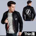 2016 winter Flying jacjet air force jacket The Flash Marvel heros zipper thicken jacket