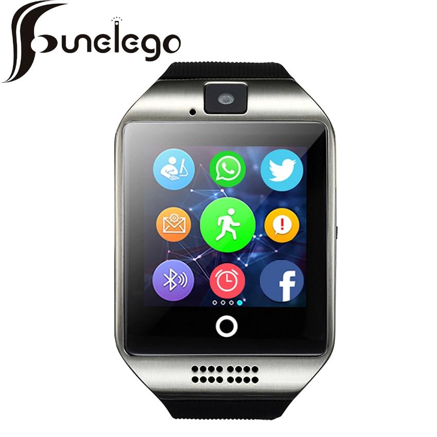 Funelego Q18 Smart Watch With SIM Card 2G Internet Waterproof Support WhatsApp Camera Sports Bluetooth Cell