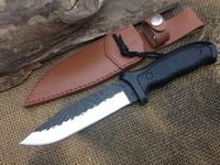 A08 Forging Camping Tactical Fixed Knives,5Cr13Mov Blade ABS Handle Hunting Knife,Survival Knife.