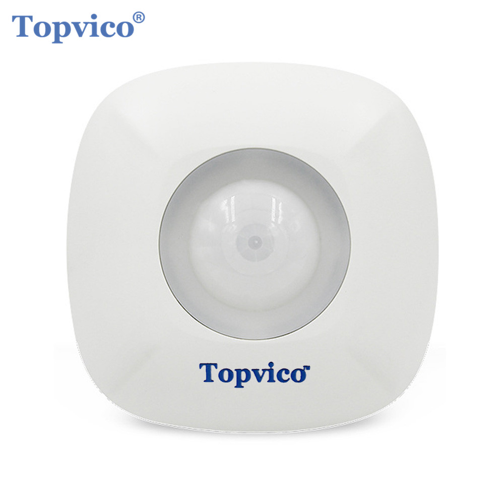 все цены на Topvico Z-wave Motion Detector Sensor Alarm Zwave Z wave Wireless Infrared Motion Sensor Smart Home Automation Security Systems онлайн