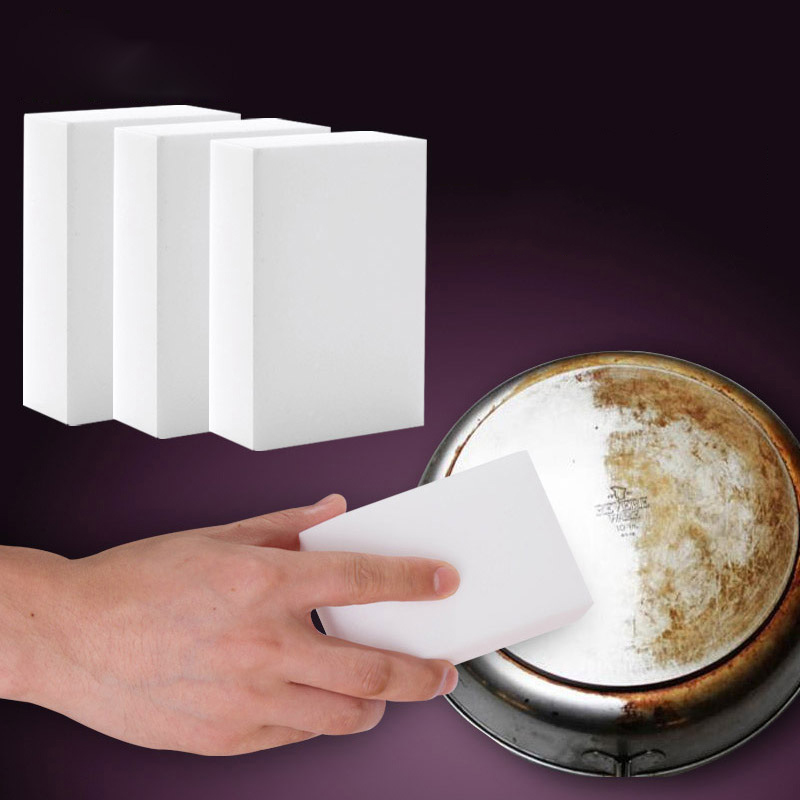 BalleenShiny white Magic Sponge Eraser Melamine Cleaner,multi-functional Cleaning tool Retial 1 pcs/packing Kitchen best helper