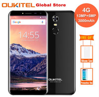 Oukitel C8 4G SmartPhone 5 5 Inch HD 18 9 Display MT6737 Quad Core 2GB 16GB