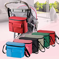 Free shipping1 PC Mummy Bag Hook Cart storage hanging carriage bag Baby trolley bag storage bag TRQ0274