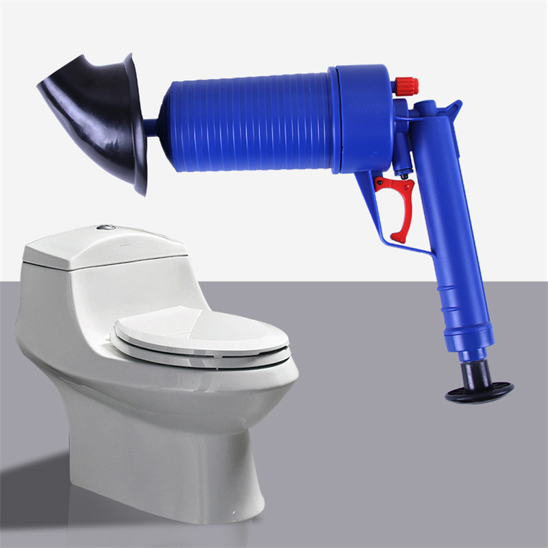 Big Size Toilets High Pressure Air Drain Blaster Cleaner