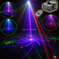 ESHINY Mini 500mw RGB 5 Lens 96 Patterns Laser Projector Blue Led Club Home Party Bar