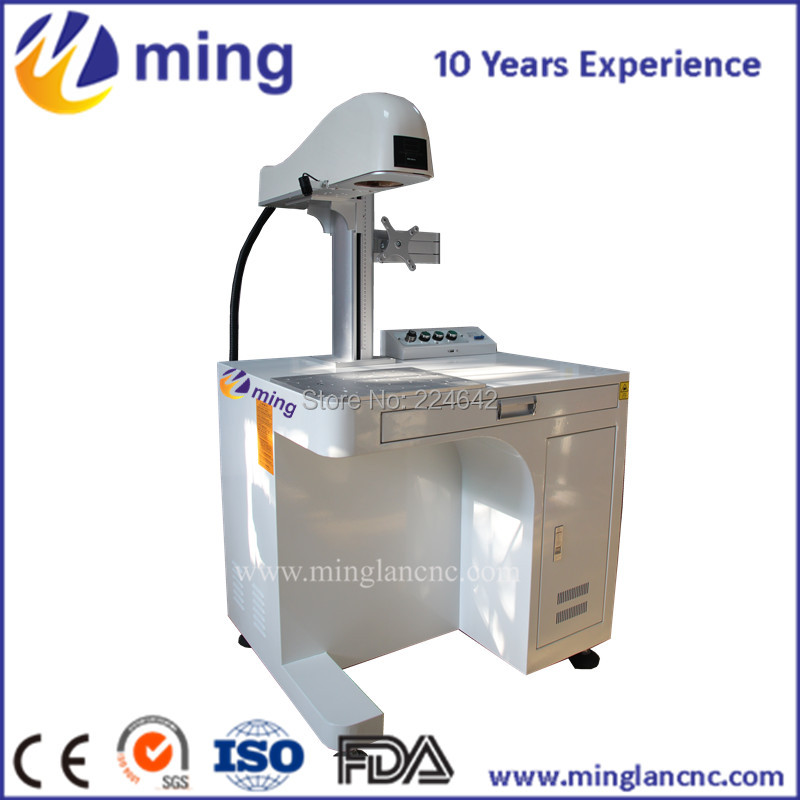 424bec06133460 ≧Venda quente Fibra Máquina Da Marcação Do Laser/20 W Cartão de ...