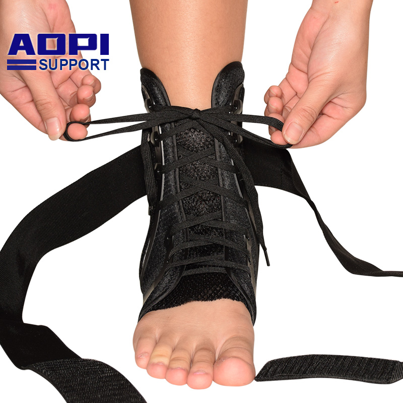 AOPI Professional Level 3 Protectio Ankle Support Strong Ankle Bandage Elastic Brace Guard Sport Gym Foot Wrap Golf shirt s