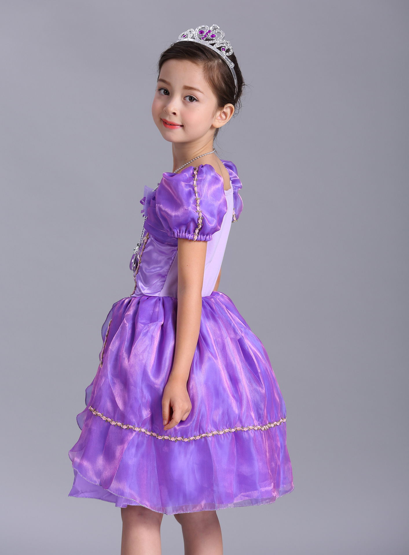 Kids infantil Baby Girl Tutu Dress Birthday Party Cosplay Costume