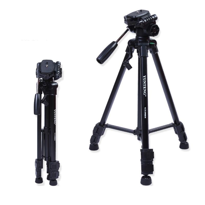 Yunteng VCT-590RM Kit de fotografía de trípode profesional para - Cámara y foto