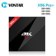 10 pcs 3G/32G H96 Pro + Amlogic S912 Octa base Android 7.1 Nougat TV Box 2.4G/5.8G WiFi BT4.1 H.265 4 K 1000 M Lan H96 Pro Plus