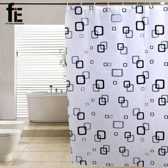 FiE 180*200 Cm Bath Screen Eco Friendly Shower Curtain Waterproof Fabric  PVEA Shower