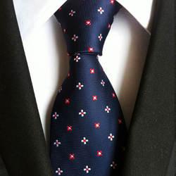 Новый высокое качество полиэстер для мужчин's бизнес повседневное полосатый галстук 8 см Широкий модные офисные официальная одежда