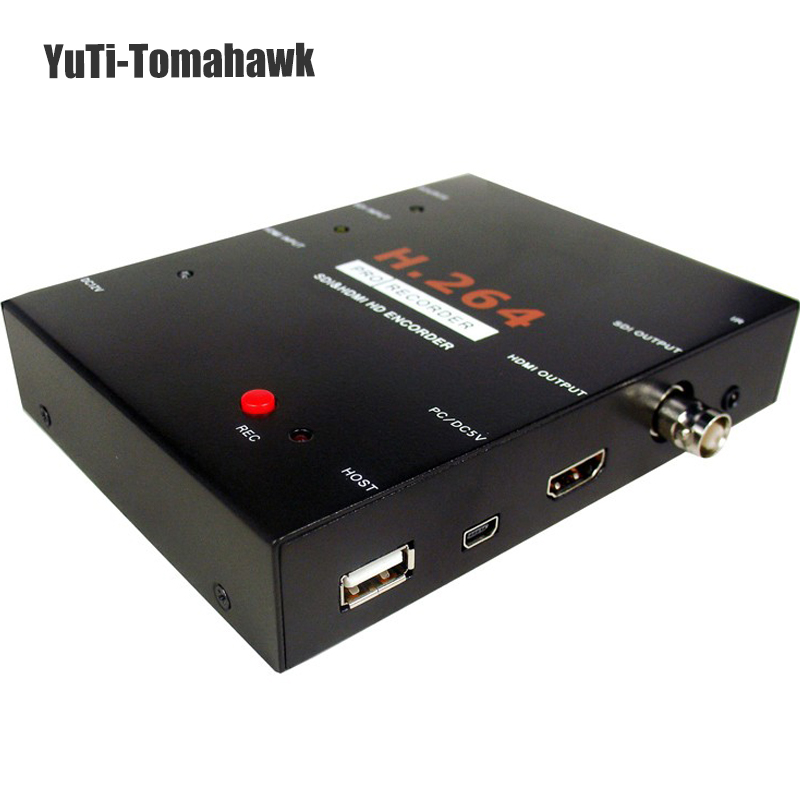 2018 mise à niveau EZCAP 1080 P HD SDI HDMI Jeu Vidéo Carte de Capture vidéo Enregistreur à USB Flash Disque HDD SD Carte Pas Besoin ordinateur
