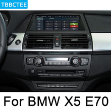 For BMW X5 X6 E70 E71 2011~2014 CIC multimedia player Android Car radio GPS Navigation HD screen WiFi BT Bluetooth WIFI Map 10 25 touch android 7 1 car radio gps navigation for bmw x5 e70 2007 2013 bmw x6 e71 2007 2014 intelligence car multimedia