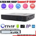 4CH 8CH H.264 CCTV DVR NVR Recorder P2P iCloud 4ch Full 1080P Up to HD 1920*1080 CCTV DVR 1080P 8CH NVR Recorder Free Shipping
