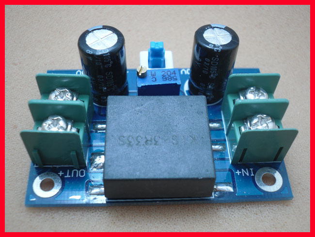 DC - DC most efficient 98% super LM2596 synchronous adjustable step-down module kis-3 r33s module 3A power supply liquid crystal displays dc dc step down power supply adjustable push button module with lcd display