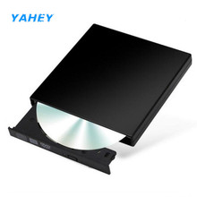USB 2.0 External CD ROM Drive Optical DVD RW Burner Writer Recorder Portatil DVD Player Reader for Laptops Computer PC Windows