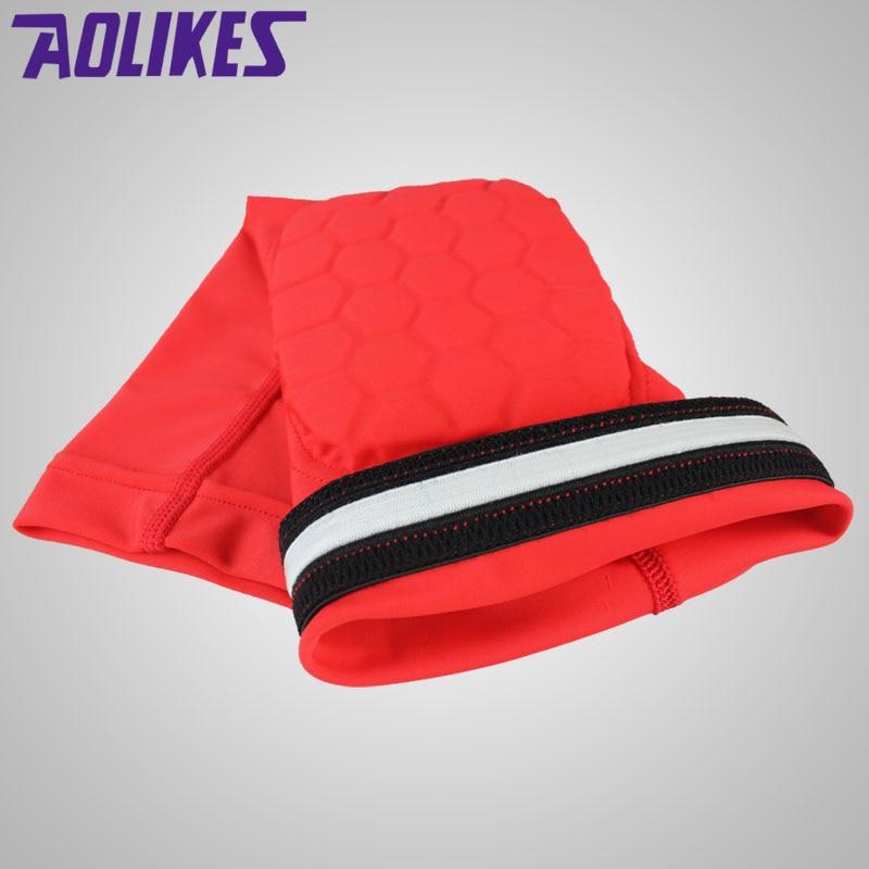AOLIKES 1PCS Hex Honeycomb Sponge Basketbol qolları qolları Qəzaya - İdman geyimləri və aksesuarları - Fotoqrafiya 3
