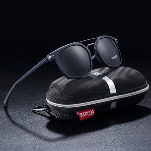 Image 3 - BARCUR Luxus Marke TR90 Rahmen Sonnenbrille für Männer Sonnenbrille Damen Sport Brillen