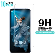 10 Pcs Tempered Glass For Huawei Honor 20 Screen Protector 2.5D 9H Protective Film