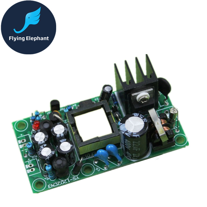 AC220V To DC5V & DC 12V Dual Output Full Isolation Switch Power Supply 1A AC-DC 5V 12V Buck Module nce60h15 to 220
