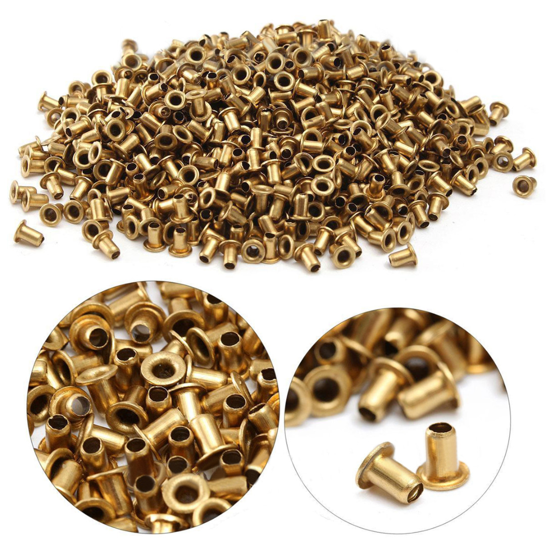 Pack of 1000pc Brass BEEKEEPING FRAME EYELETS for HIVE FRAME Bee EQUIPMENTS