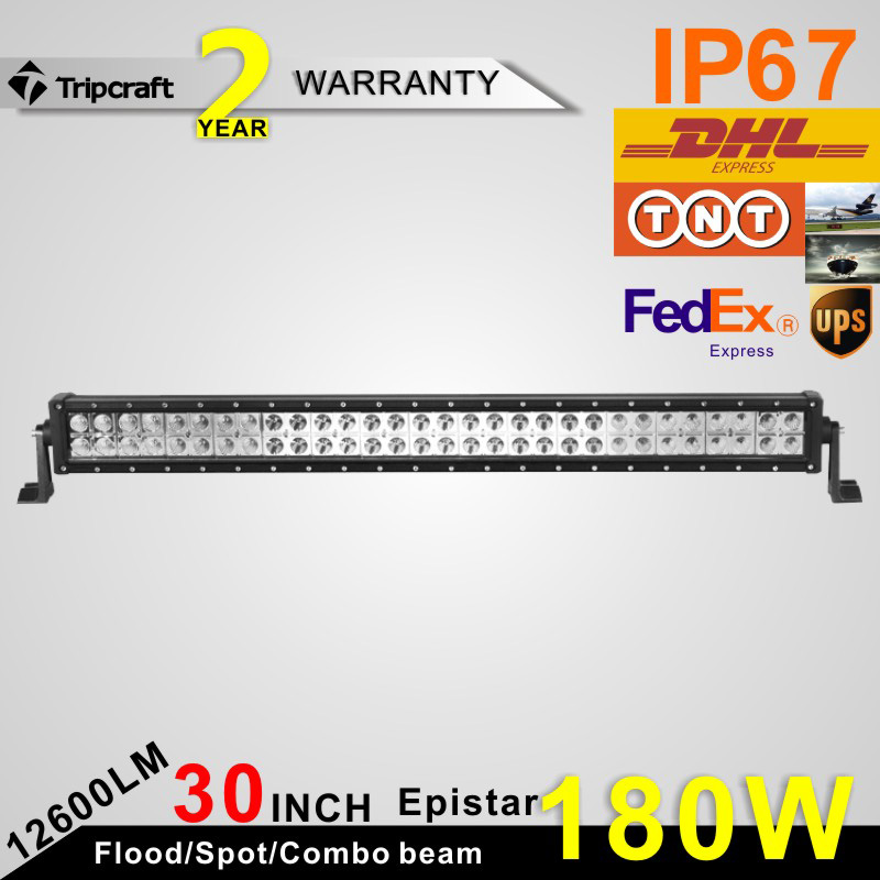 30Inch 180W LED Light Bar for Off Road Indicators Work Driving Offroad Boat Car Truck 4x4 SUV ATV with Spot Flood Combo 12V 24V hot 21 120w led light bar for off road indicators work driving offroad boat car truck 4x4 suv atv fog spot flood combo12v