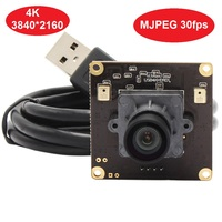 New High resolution 4K Camera Module 3840x2160 Mjpeg 30fps Mini USB Webcam Web Camera Module with 1/2.5 sony IMX317 sensor