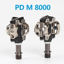 цена на RACEWORK  PD-M8000, XT, SPD Flat Bike Pedal, Cleat Set Included