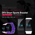 Original! DFit D21 Heart Rate Monitor Smartband Waterproof  SmartBand Health Fitness Tracker for Android and iOS