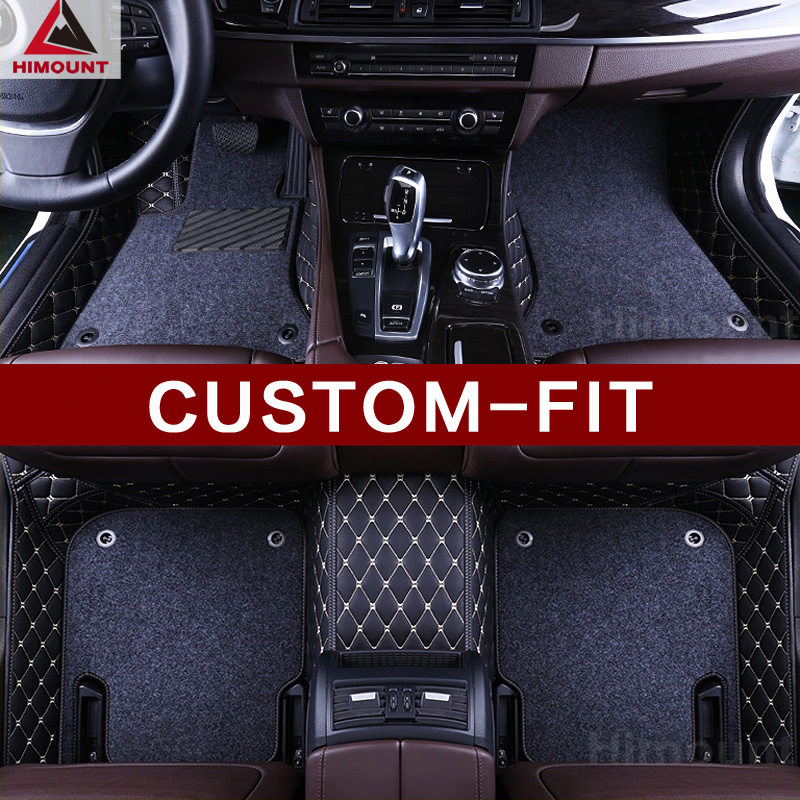Custom make car floor mats Specially for R53 F55 F56 Paceman R61 Countryman R60 F60 R55 F56 high quality all weather carpet
