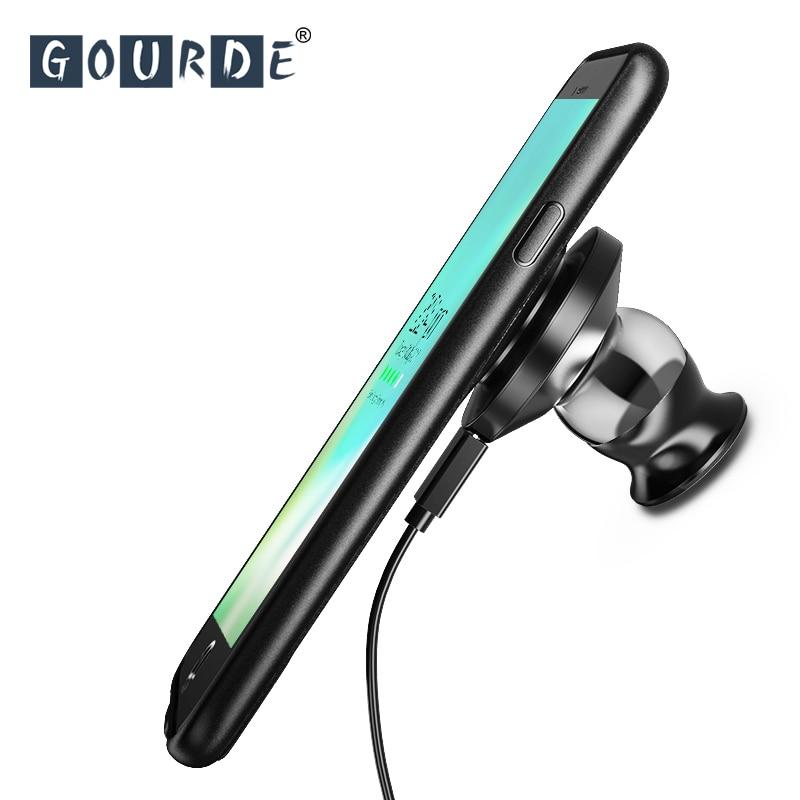 Gourde Fast Charging Car Holder Magnetic phone case