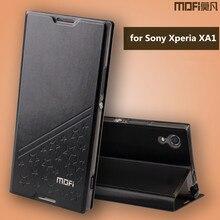 MOFI люкс Lucky Star кожаный чехол для Sony Xperia XA1 телефон Обложка сумка Стенд телефон случаях откидная крышка Для Sony XA1 случае