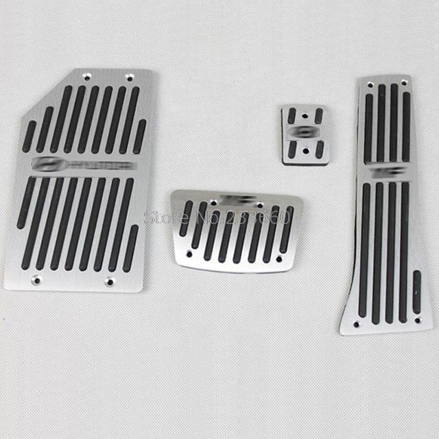 Aluminum Fuel Brake Foot Rest gas sport AT Pedals Pads Fit For Hyundai Sonata i45 YF 2011-2013