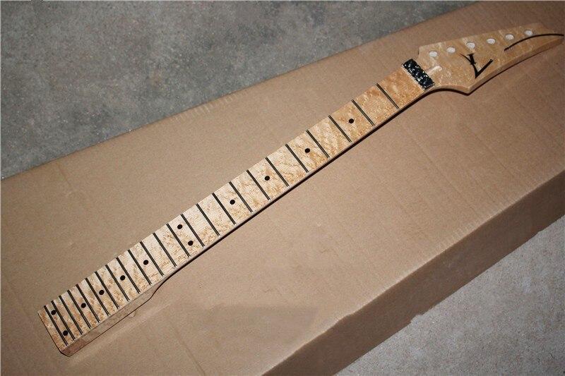 Électrique guitare RG modèles DIY guitare électrique cou à vol d'oiseau en bois d'érable cou 24 produits double secouer la tête oreiller