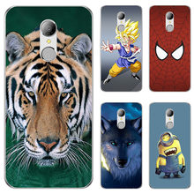 "Soft Silicone TPU Case For HomTom HT37 HT 37 Pro 5.0"" Case Cover HD Print Patterned Cover Phone Back Shell(China)"