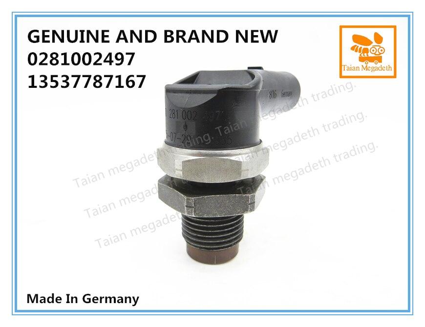 FOR BMW 13537787167 NEW DIESEL FUEL PRESSURE SENSOR COMMOM RAIL ENGINES