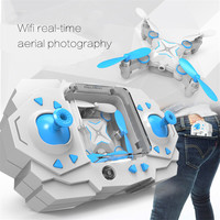 Foldable RC Mini Drone Micro RC Helicopter four axis aircraft wifi aerial camera remote control toy for children